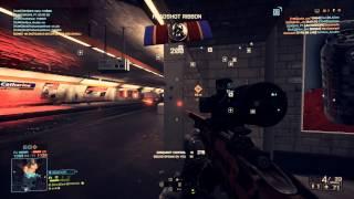 Battlefield 4 GOL Magnum Operation Metro Gameplay  PC