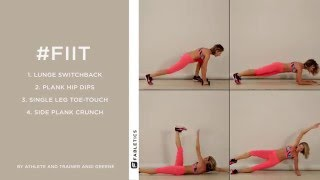 FIIT | 4 Moves to Transform Your Abs