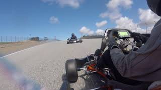 Laguna SECA // NCK 2018 Road race // 80cc Shifter Karts