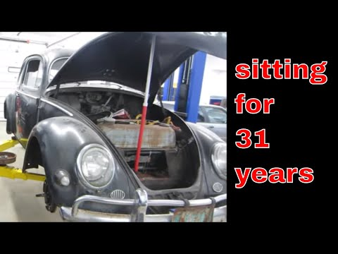 Will it Run? 1956 vw beetle with supposed no compression.