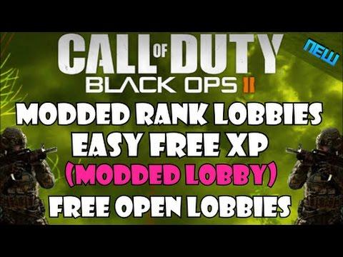 Black Ops 2 public xp lobby FREE