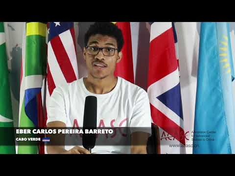 ACASC Study in China   Eber Carlos Pereira Barreto from Cabo Verde