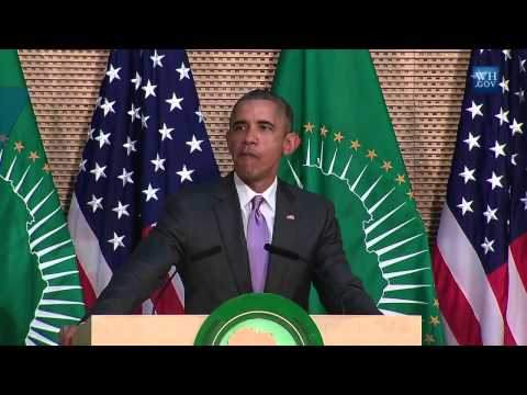 President Obama Speaks On Presidential Term Limits in Africa
