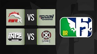 [BR6] BRK vs PAIN e NOX vs INTZ - Grupo A (Rodada 1)