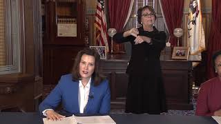 Gov. Whitmer announces stay-at-home order for Michigan residents