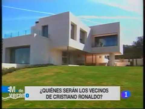 Cristiano ronaldo new home in madrid youtube - Fotos de la casa de cristiano ronaldo ...