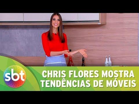 Chris Flores mostra tendências de móveis
