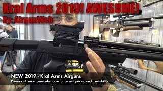 Kral Arms Shot Show 2019 - At the Air Venturi Booth - Video by AirgunWeb