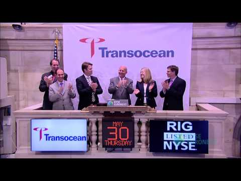 Transocean Ltd. Celebrates 20 Years of Trading on the New York Stock Exchange