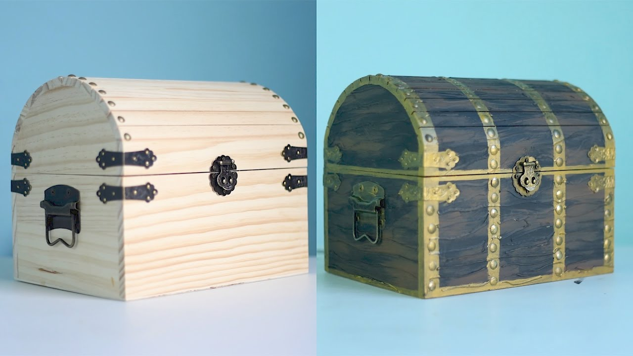 How To Make A Pirate Treasure Chest