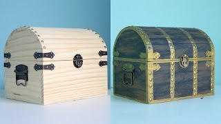 How To Make A Pirate Treasure Chest!