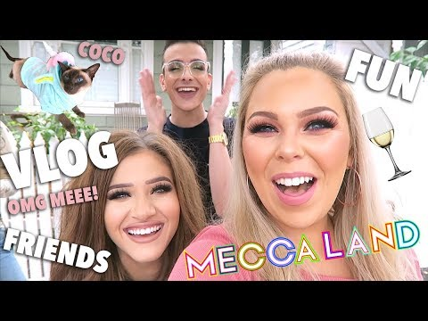 VLOG! MECCALAND, FUN, FRIENDS, WINE, PR PACKAGES & MORE!