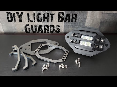 DIY light bar surface mount guards for your off-road bumpers.