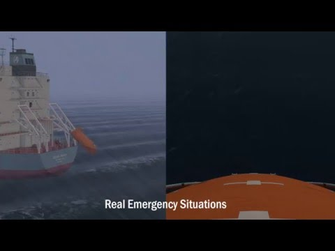 Lifeboat Simulation for Coxswain Training | Maritime Training Providers