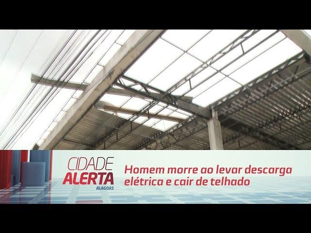 Homem morre ao levar descarga elétrica e cair de telhado de posto de combustível