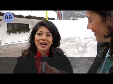 Karen Tse in Davos 2012 - Year of the Dragon Interview