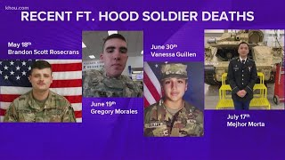 4 Fort Hood soldiers found dead this year