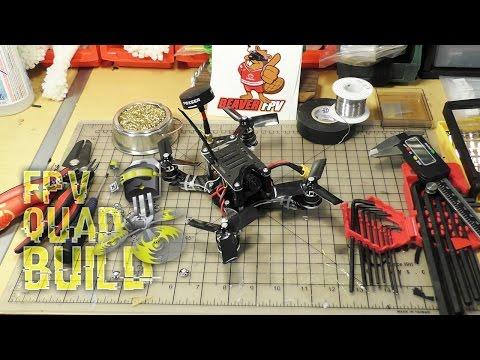 """FPV DRONE BUILD ♠ Detroit Multirotors PROTOTYPE 160mm 3"""" WP17 - Part #3 Complete Build"""