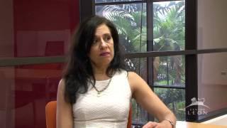 Leon Center. Interview with Andrea Giunta