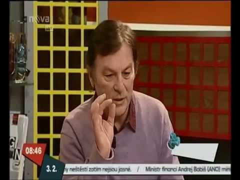 Pavel Trávníček po implantaci nitroočních čoček