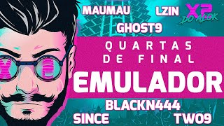 🔴 X2 DO ALOK - QUARTAS DE FINAL EMULADOR - FREE FIRE AO VIVO 🔴