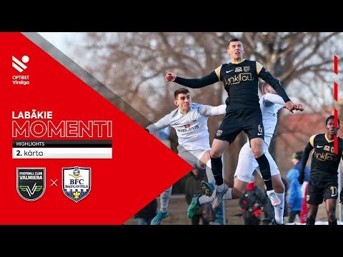 Valmiera BFC Daugavpils Goals And Highlights
