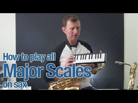 Saxophone lesson : All Major Scales