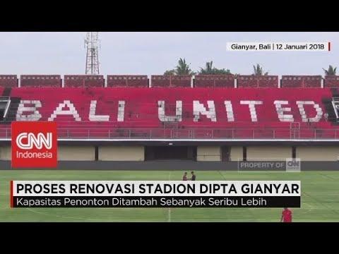 Bali United di Liga Champion Asia, Renovasi Stadion Dipta Gianyar Dipercepat