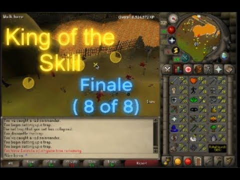 Runescape OSRS - King of the Skill (8 of 8)
