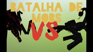 Minecraft: Batalha de Mobs #5