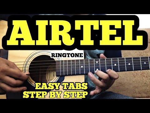 AIRTEL RINGTONE Guitar Tabs/Lead Lesson with instrumental Cover | FuZaiL Xiddiqui | A.R REHMAN