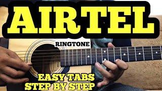 Airtel Ringtone Guitar Lesson | गिटार बजाना सीखे बहुत आसान तरीके से हिंदी में | FUXiNO