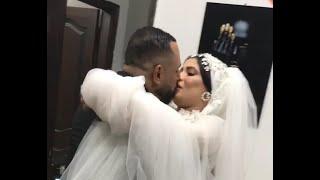 عريس يبوس عروسته حضنها وشالها ولف بيها  يوم الفرح رد العروسة _ Wedding Day همسات الزفاف