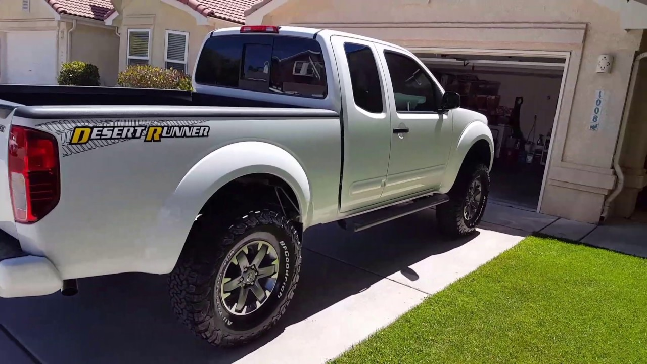 2016 Nissan Frontier 6 Quot Fabtech Lift With 1 5 Quot Wheel