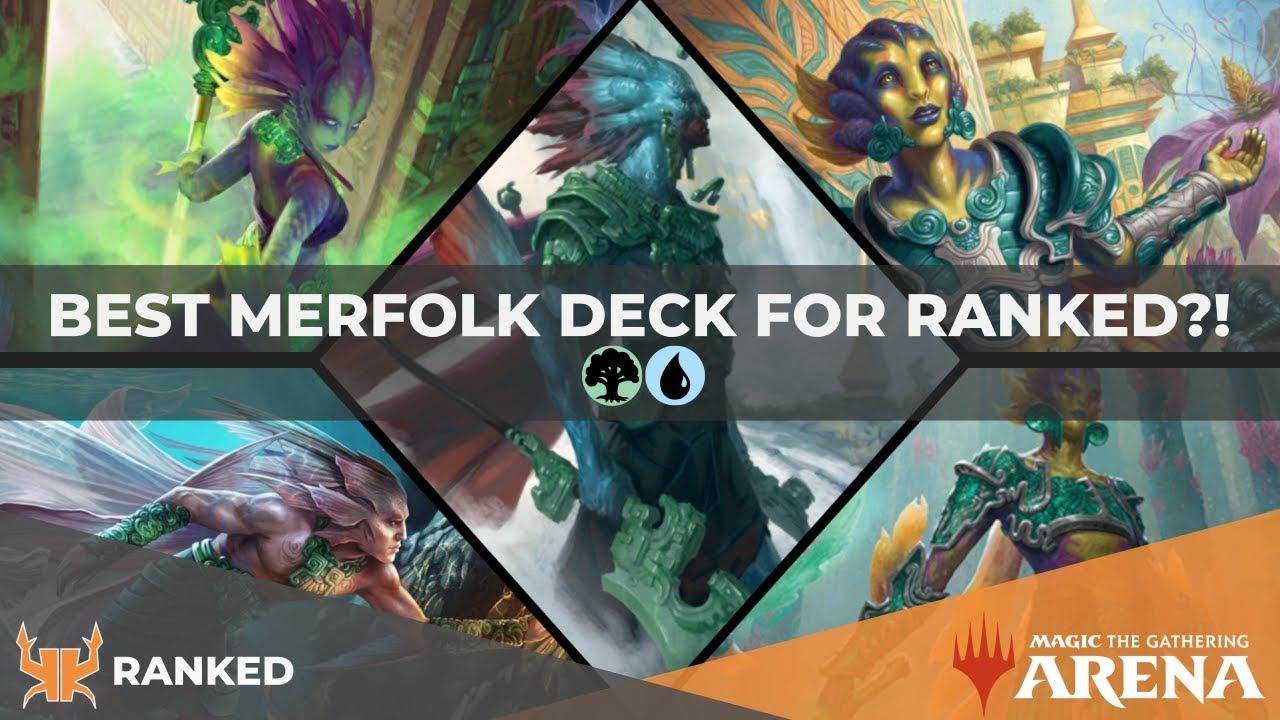 Best Budget Merfolk Deck! | Reached Mythic! [MTG Arena]