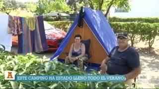 Camping de Cazalegas. Ancha es Castilla - La Mancha.