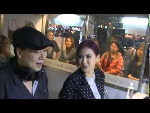 Amber An 安心亞 Live on the Street (11/21/2014)