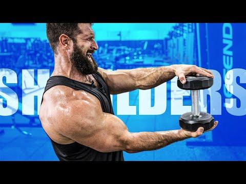 4 Dumbbell Shoulder Exercises For MASSIVE DELTS!