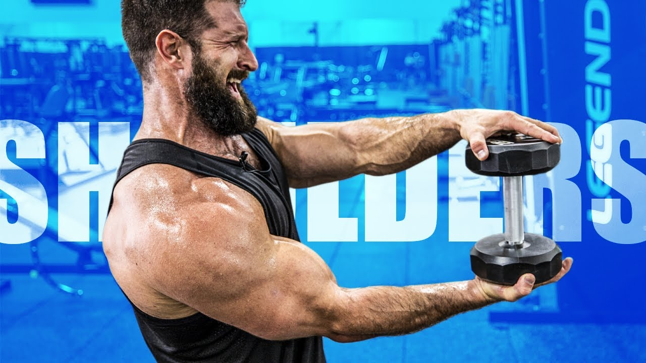 Download 4 Dumbbell Shoulder Exercises For MASSIVE DELTS!