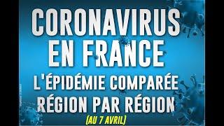 Coronavirus en France : le point sur l'épidémie région par région