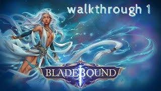 Bladebound: Immortal Hack and Slash Action RPG - walkthrough 1