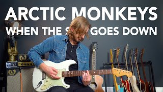 "Arctic Monkeys ""When The Sun Goes Down"" Guitar Lesson Tutorial"