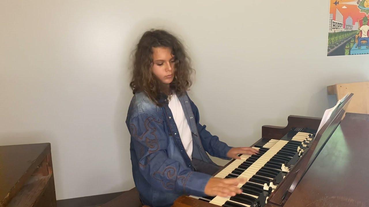 National Anthem on Hammond Organ by Dylan Zangwill