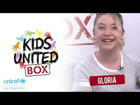 KIDS UNITED BOX #GLORIA