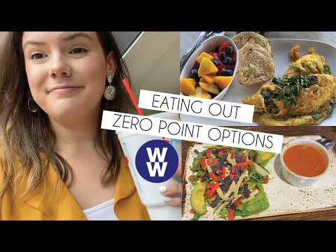 What I Eat In A Day On WW (Weight Watchers) | Eating Out