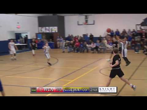 Christian Heritage Academy Middle School Basketball vs. Westover Christian Academy 2019-2020