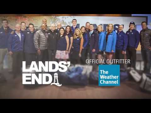 Lands' End- Official Outfitter Of The Weather Channel