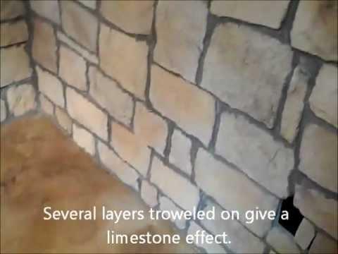 Faux Limestone Floor YouTube - Faux limestone tile