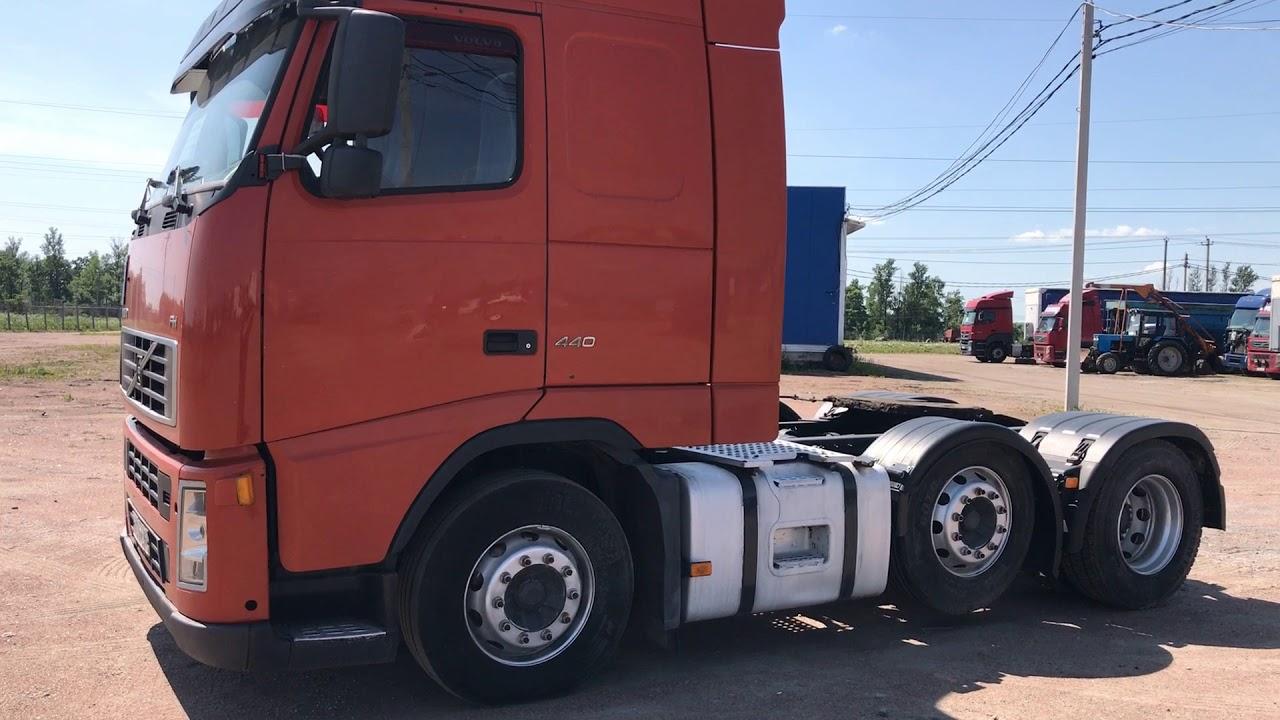 Volvo fh13 440 обзор тягача