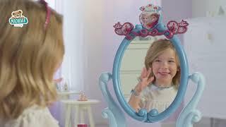 Kozmetický stolík Frozen 2 Disney 2v1 Smoby